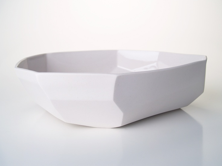 Large Facet Bowl from GDG Studios