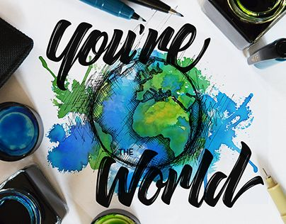 "Check out new work on my @Behance portfolio: ""You're the World"" http://be.net/gallery/54383371/Youre-the-World"