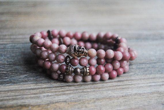 108 mala bracelet buddha bracelet wrist mala beads