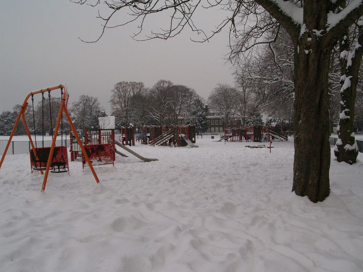 Childrens Play Ground Gillingham Park Kent England Shared