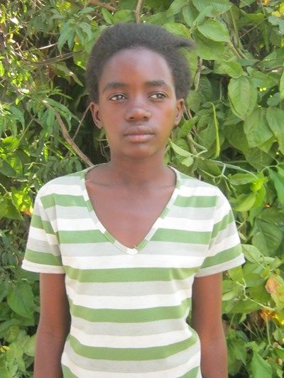 Rosanne Catalano & Bill Umland's sponsored child, Martha, from Zambia, Africa. She will be 15 in December 2015.