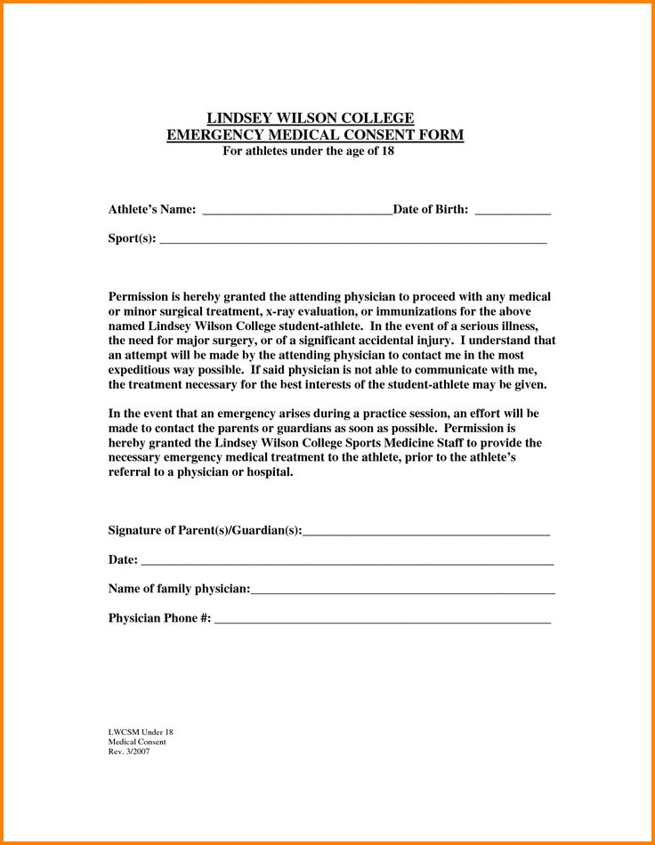 The 25 best medical consent form children ideas on for Medication consent form template