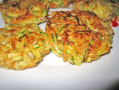 Gemüseschnitzel - Rezept