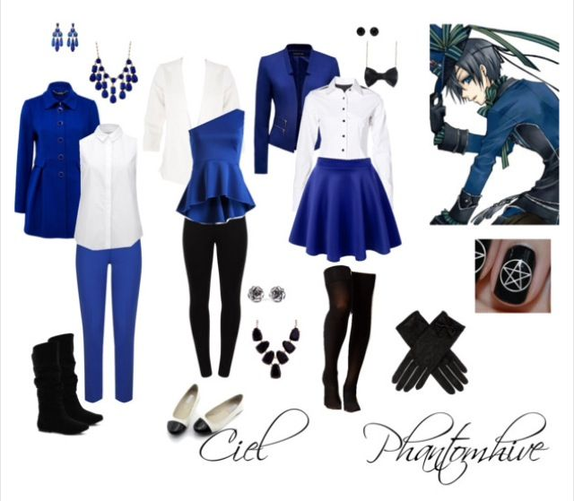 Black Butler casual cosplay