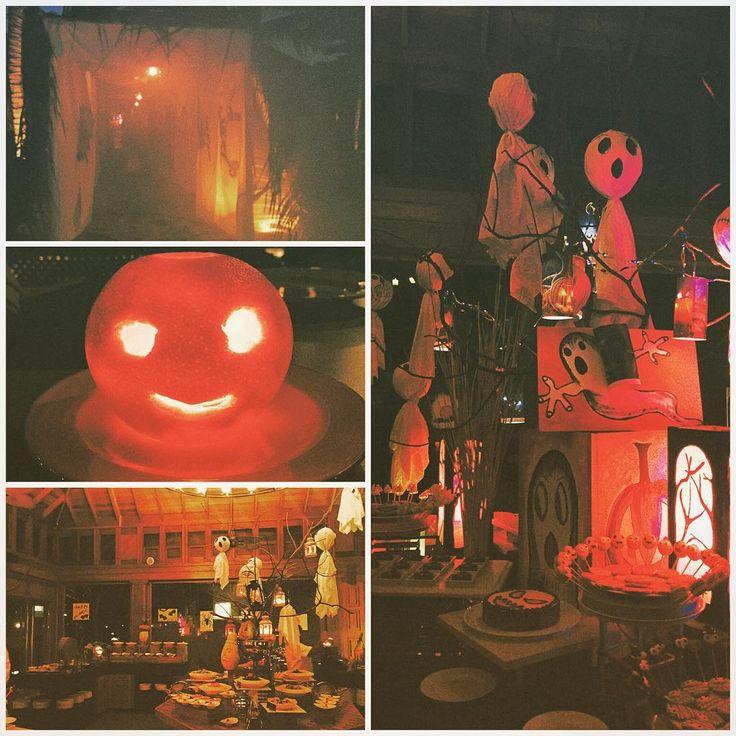 Happy Halloween - Mudhdhoo Island Celebrates with the ghosts and spirits of Baa Atoll. #Halloween #DusitThaniMV #DusitThani #Maldives #ghost #pumpkin #grave #baaatoll