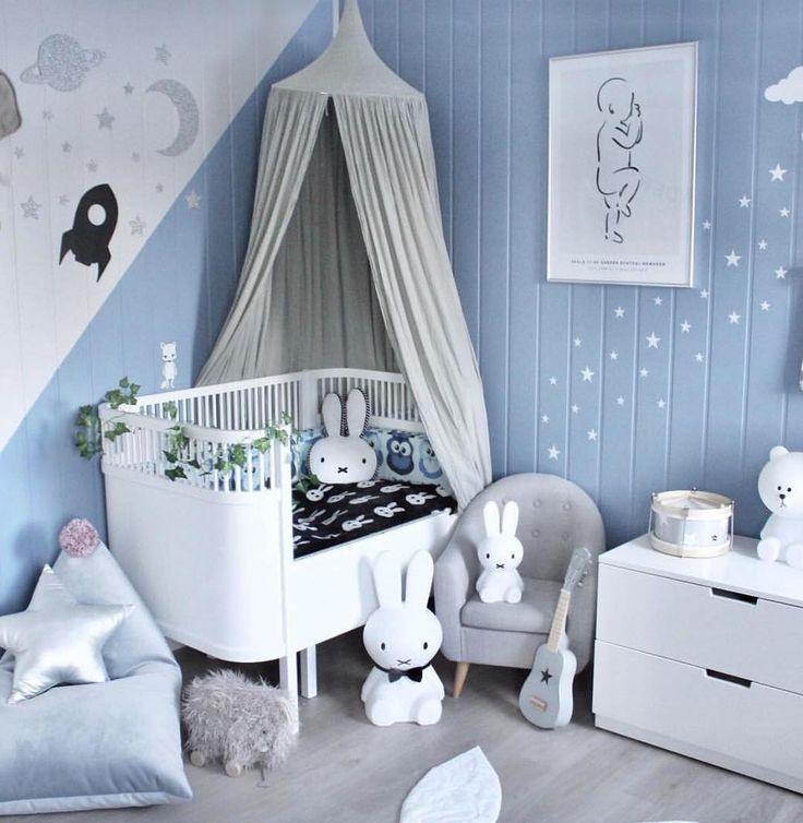 24 best Kinderzimmer BLAU images on Pinterest   Child room, Babies ...