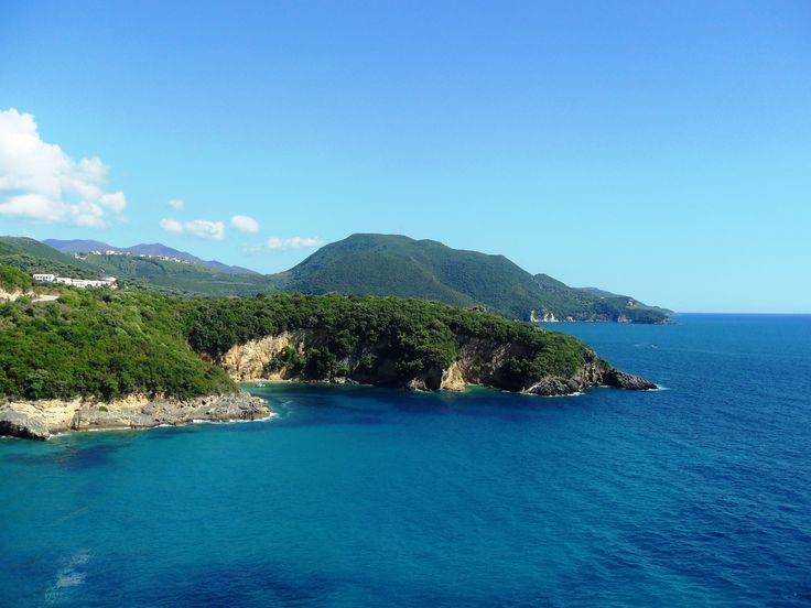 Epirus. Ionian Sea. Parga. Sivota. Greece.