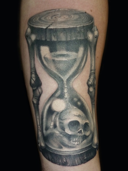 29 best images about tatts on pinterest hourglass tattoo for Skull hourglass tattoo