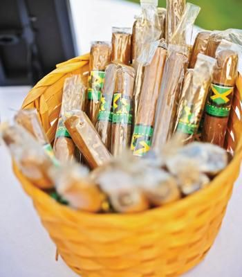 Wedding favor idea - cigars with personalized labels