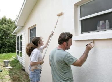 How to Tell if Your Home Has Traditional Stucco or EIFS Stucco: You can paint an EIFS stucco house.