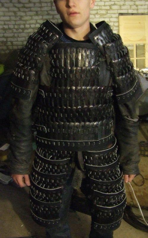 Golden Horde warrior's armor rec.