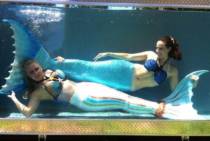 Mermaid melissa mermaids for Mermaid fish tank