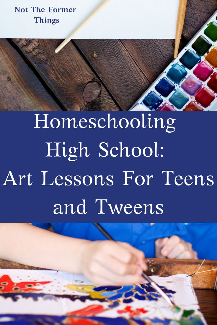 Homeschooling Excessive College: Artwork Classes For Teenagers and Tweens