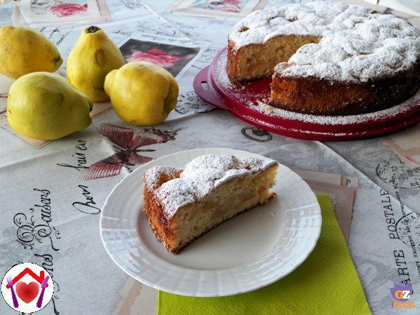 Mi hanno regalato delle mele cotogne e finora le ho sempre usate per fare la marmellata... però mi sembrava riduttivo, quindi le ho usate per fare una torta.