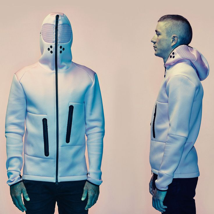 Sportswear by Vollebak / Vollebak sportswear collection includes a ceramic-skinned jacket that protects wearers from falls