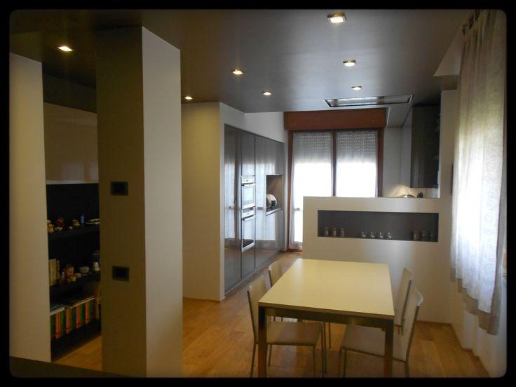 Controsoffitto - Ribassamento - Abbassamento soffitto - Arredamento Lissone - FORMARREDO dueCucine - Mobili -ArredamentoLissone - Milano - Monza e Brianza