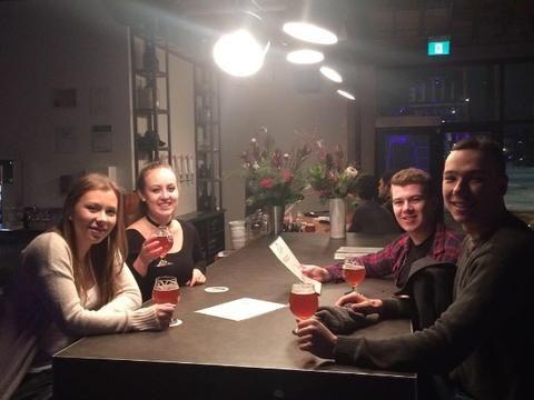 Winnipeg brewery beer tasting tour, we should go!