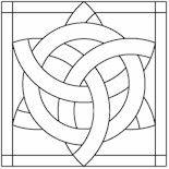 mandala stained glass patterns | StainedGlass Mandalas For Meditation PDFs