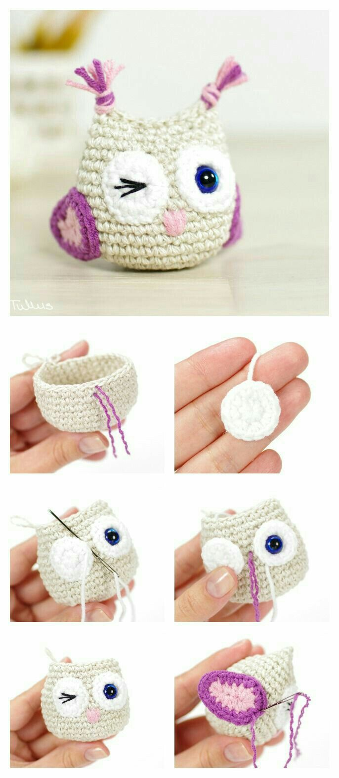 357 best croché images on Pinterest | Arm knitting, Knit crochet and ...