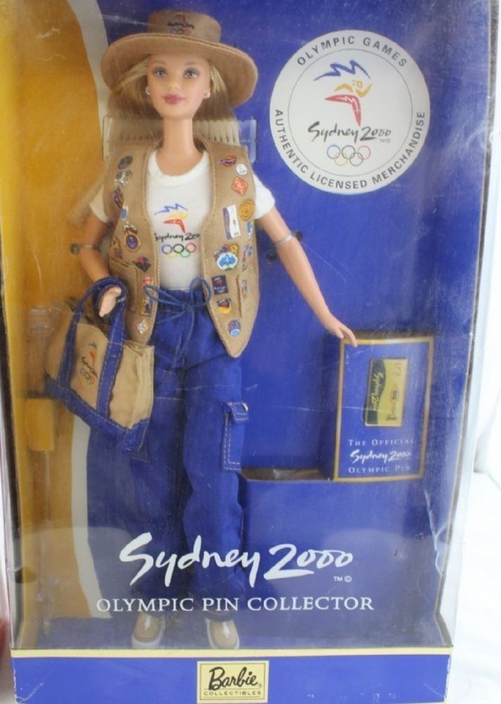 Barbie Doll Sydney 2000 Olympic Pin Collector #Mattel #DollswithClothingAccessories