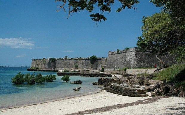A old Portuguese fort at Ilha de Moçambique