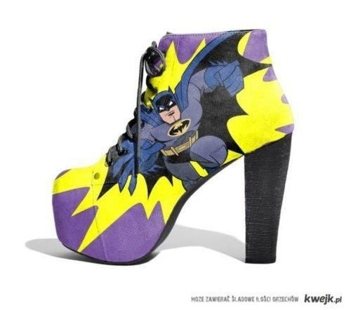 Batman Heels Im In Love #shoes, #fashion, https://facebook.com/apps/application.php?id=106186096099420