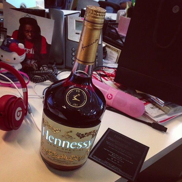 Hennessy Luminous Light Up Bottle Boozy Bottles