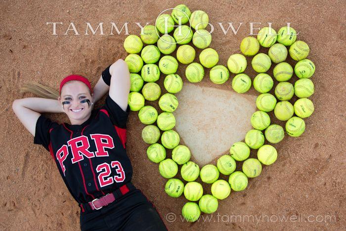 senior girls softball portrait photography - Google Search
