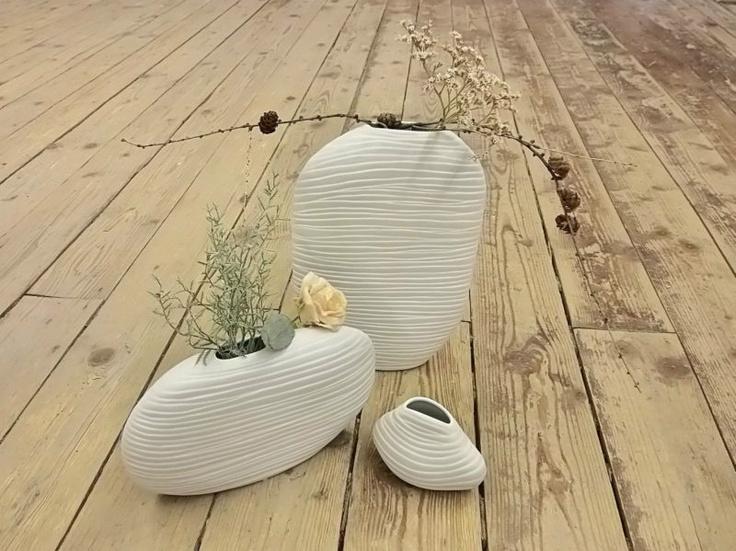 Vase Samui, Tisch, Deko, Blumenvase, Traumlicht, weiß, Gilde | eBay