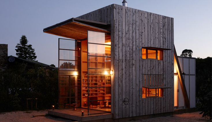 Summer home: A mobile beach house in New Zealand - Azure Magazine