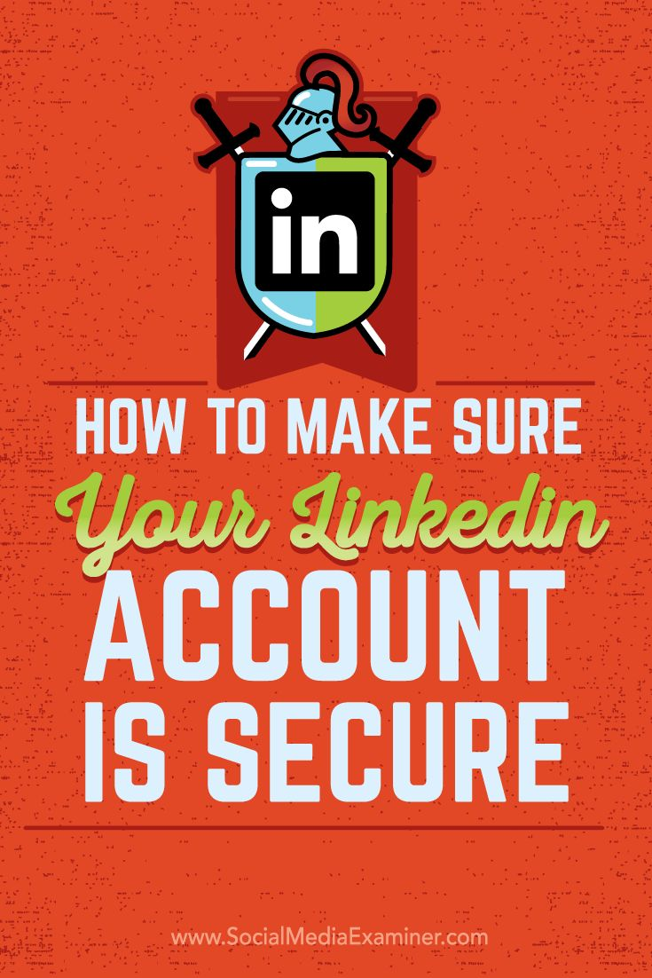 202 best linkedin images on pinterest social media marketing security on linkedin malvernweather Images