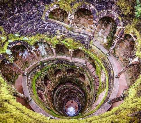 "Quinta da Regaleira (Portugal) - The palace is known as The Palace of Monteiro the ""Millionaire"", named so after its former owner. The property has a palace, chapel, park, fountains and more to explore. Want to discover more hidden gems in Europe? All of them can be found on www.mapiac.com"