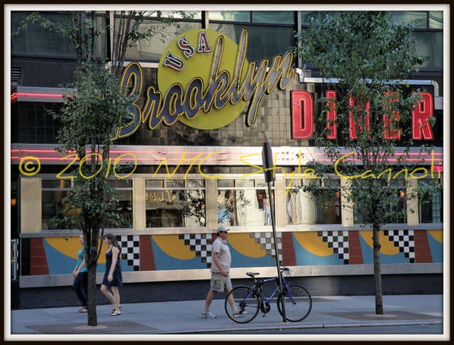 BROOKLYN DINER DAYTIME NYC