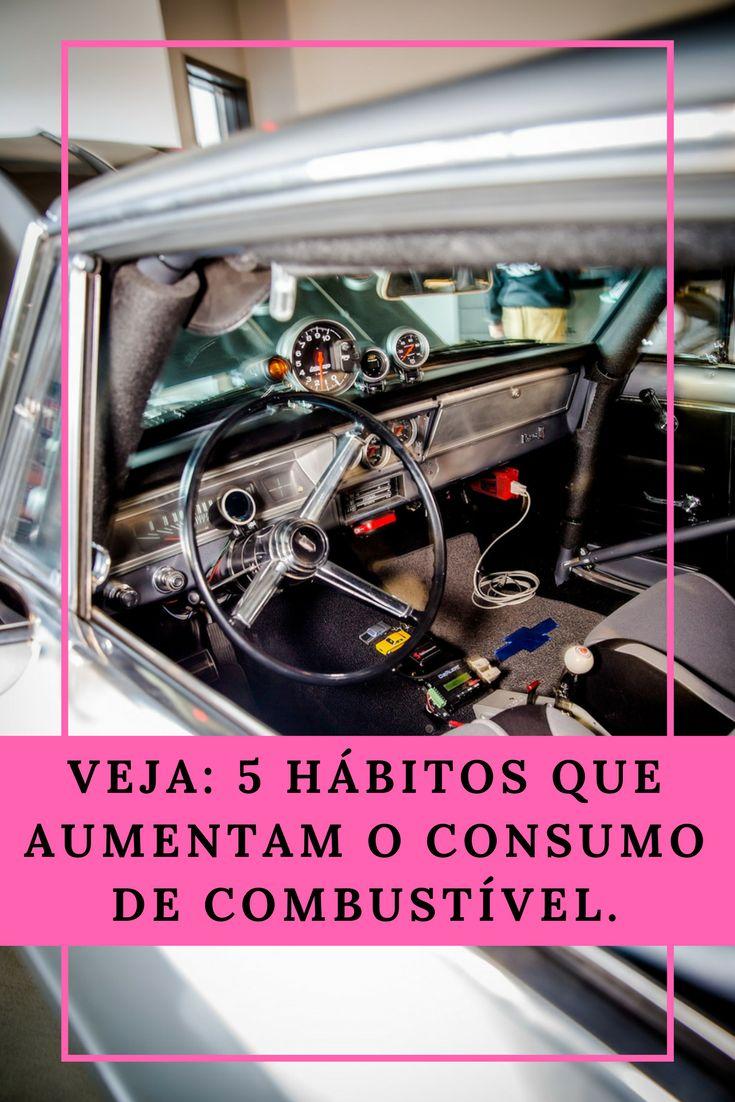 Descubra aqui neste post dos melhores carros do mundo, 5 hábitos que aumentam o consumo de combustível.
