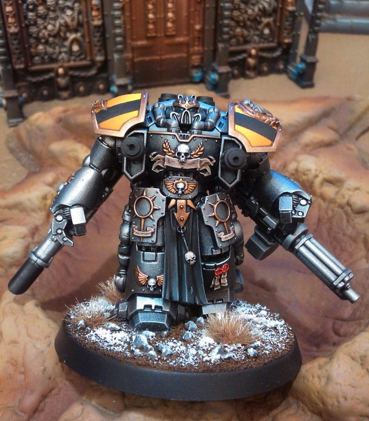 Forums / Peinture / Iron Within, Iron Without, mon armée Iron Warriors | News : dread - Mini Créateurs