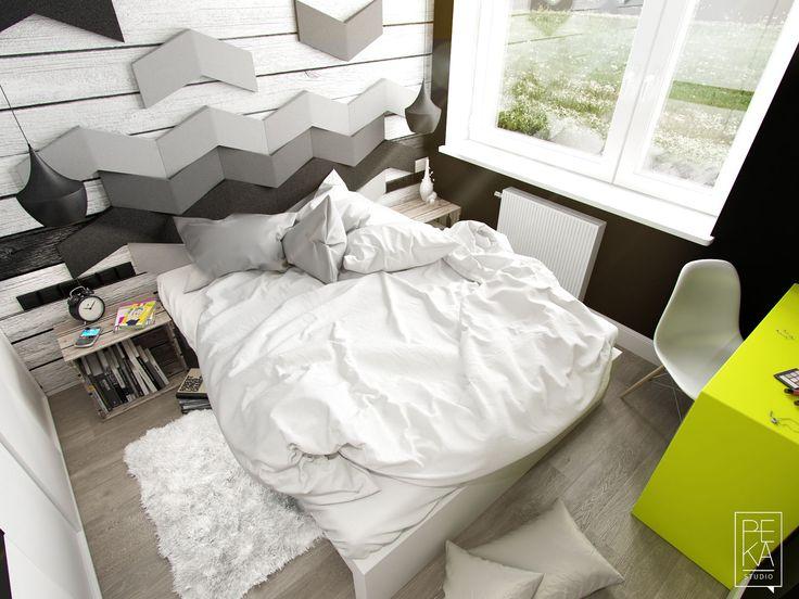 Bedroom by PEKA STUDIO