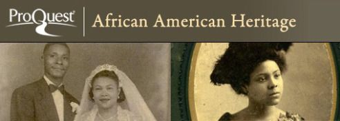 October's free online resource is African American Heritage. This resource provides genealogical and historical records useful for exploring the lives of African American ancestors, a process complicated by the disruptions of slavery and the dearth of centrally-accessible records. Access Freedman's Bank and slave records in addition to birth, marriage, death, church, military, court, & legal records. -- Amy's pick