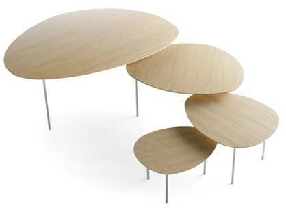 Our very own stua eclipse nesting tables by Jon Gasca. Modern classic