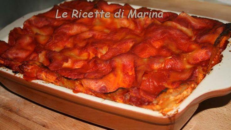 La lasagna con la ricotta, ricetta della tradizione