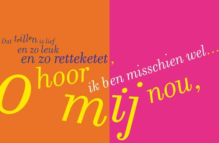 Pagina 6-7 uit 'De Roetekavloemsamiep' van Hans Muiderman - Uitgegeven door x-editions, Den Haag (2017) - ISBN 978-90-823888-1-7 - 32 pagina's self cover - Formaat: 21 x 16 cm - Druk: zwart met 3 kleuren fluor - Oplage: 1000 exemplaren, handgenummerd - Papier: Soporset offset 135 grs. - Bindwijze: nietjes in 2 kleuren - Ontwerp omslag en binnenwerk: Erik Cox  - Page 6-7 from 'De Roetekavloemsamiep' by Hans Muiderman - Published by x-editions, The Netherlands (2017) - ISBN 978-90-823888-1-7