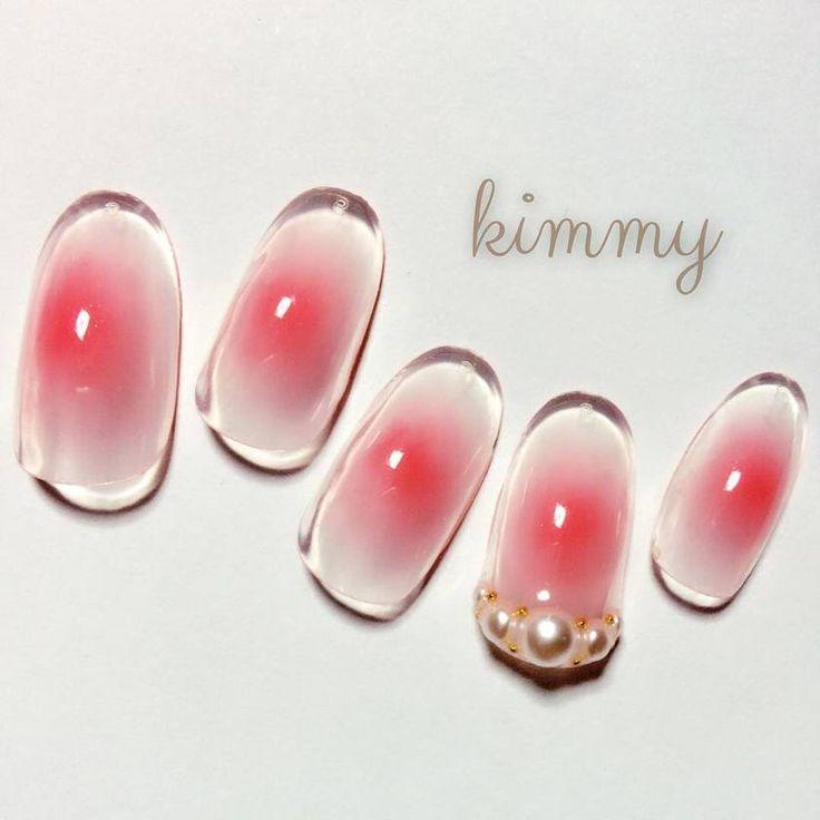 blush cheeks inspired tinted pink Nail