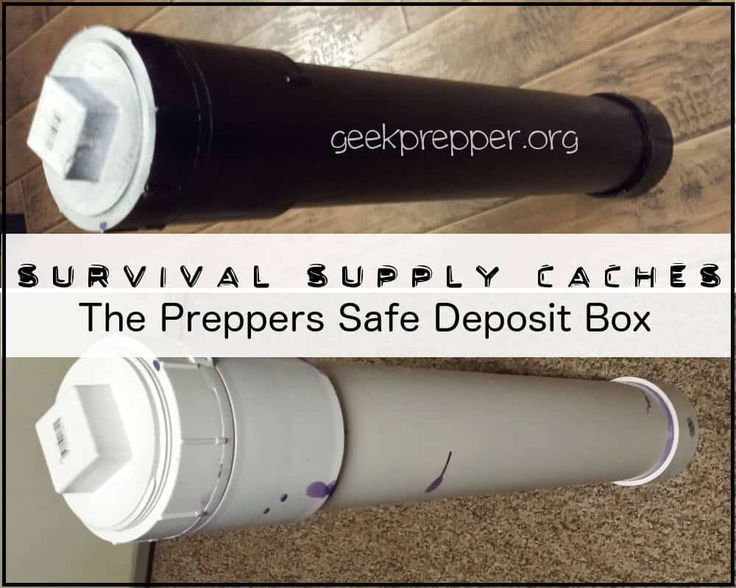 If you need to stash some gear or supplies then you need to consider Survival Supply Caches, the Preppers Safe Deposit Box!