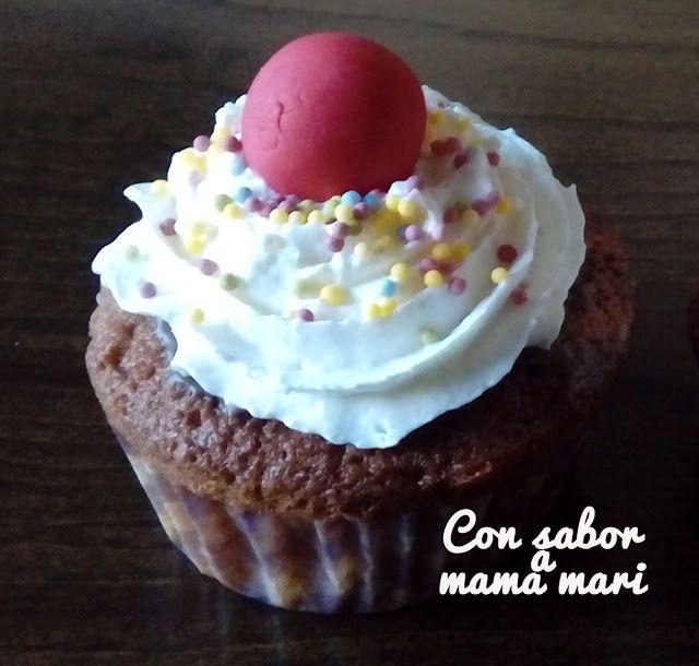 Con sabor a mama mari: Cupcake banana split