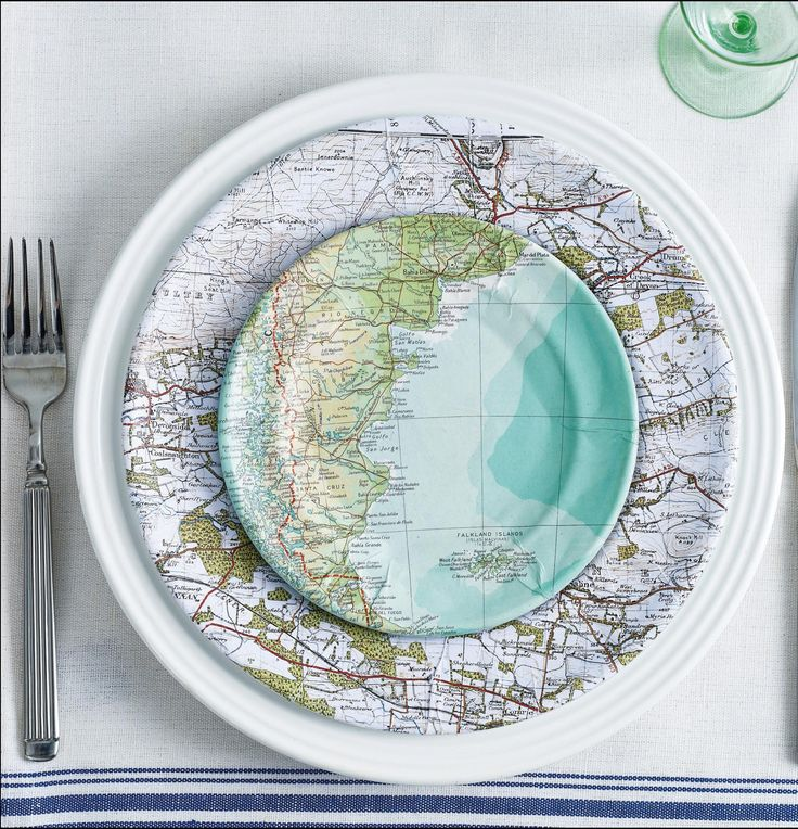 Turn your old maps into stylish home accessories with our map making projects