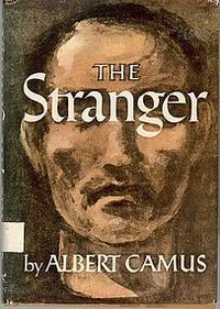 L'Étranger by Albert Camus an existential novel... looking forward to the next holidays to read it again