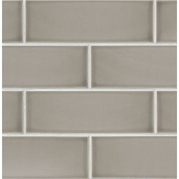 """You'll love the Grace 4"""" x 12"""" Ceramic Subway Tile in Grigio at AllModern - With Great Deals on modern Renovation  products and Free Shipping on most stuff, even the big stuff."""