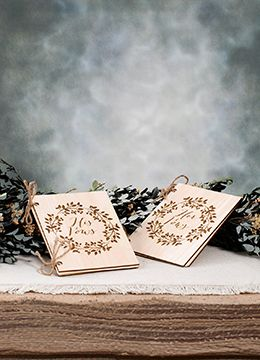 His & Her Wedding Vow Books 4x6in