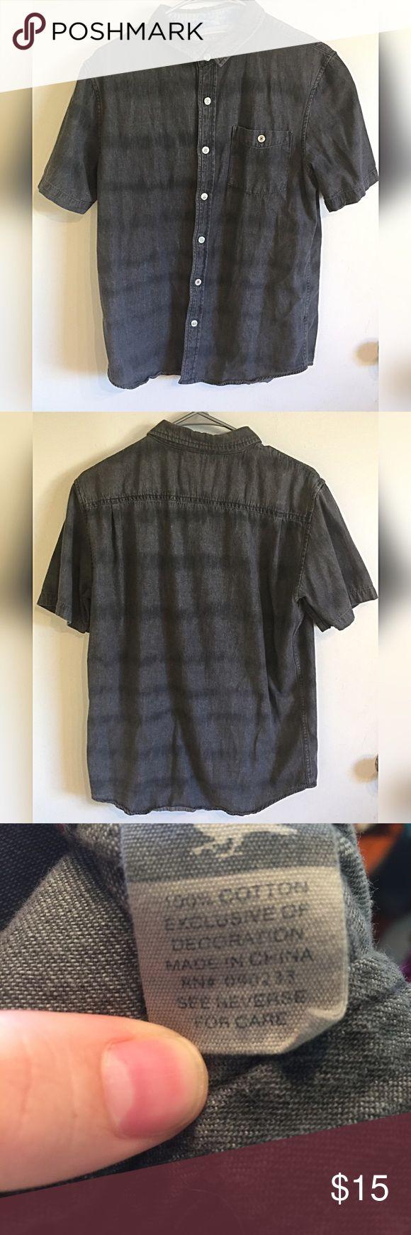▪️2 for $20▪️Modern Amusement button down Black and gray button down by Modern Amusement. Size medium PacSun Shirts Casual Button Down Shirts