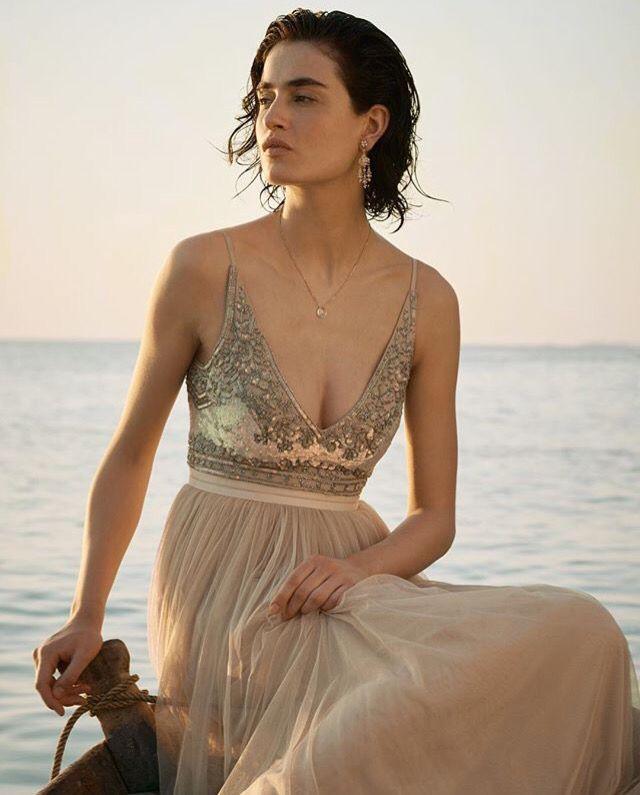 Stunning alternative dress for a laid back wedding.