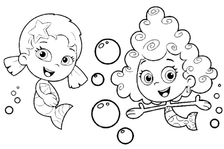 Bubble guppies halloween coloring pages ~ 65 best images about Children Cartoon Characters on ...